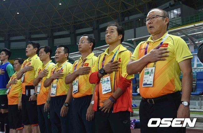 Tuyển Việt Nam,tuyển UAE,vòng loại World Cup 2022,HLV Park Hang Seo,Báo Hàn Quốc,Truyền thông quốc tế
