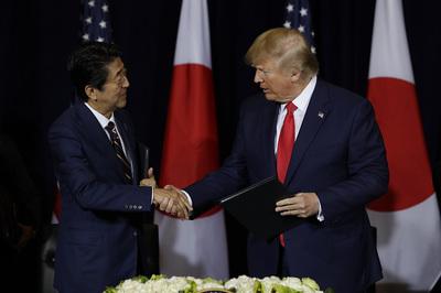 Nhật-Mỹ kí thỏa thuận thương mại mới, các hãng xe thở phào