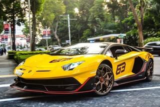 Cận cảnh Lamborghini Aventador SVJ 63 đầu tiên tại Đông Nam Á