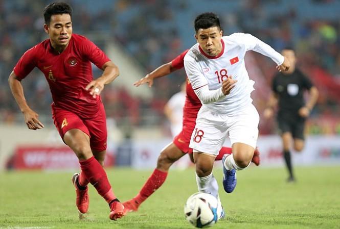 VTV có bản quyền truyền hình trận Indonesia vs Việt Nam