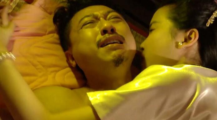 Lâm Vỹ Dạ tát Hứa Minh Đạt khi xem chồng đóng cảnh nóng với Cao Thái Hà