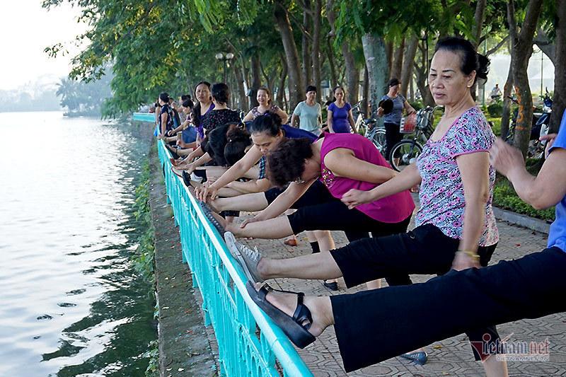 Niềm đam mê thể dục của người Hà Nội