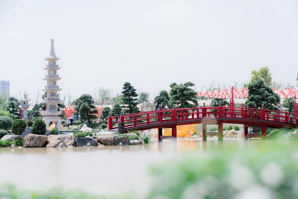 Dấu ấn có '1-0-2' của Vườn Nhật Vinhomes Smart City