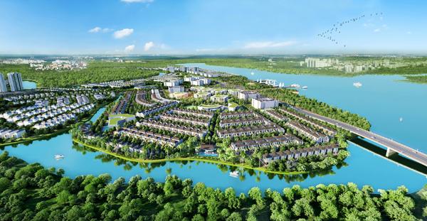 The Grand Villas - 'làng Hà Lan' tuyệt đẹp ở Aqua City
