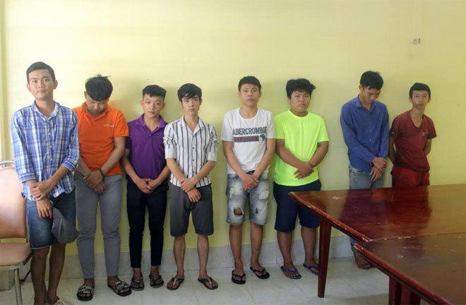 Vây đuổi chém dân phòng ở Đồng Nai, bắt tiếp 8 thanh niên
