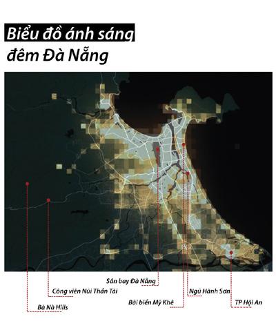 Đà Nẵng- 'Điểm đến du lịch quốc tế' le lói trong đêm