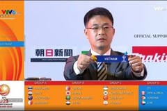 Vietnam in Group D of 2020 AFC U23 Championship's finals