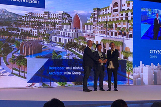 Hai dự án lớn của Crystal Bay nhận giải thưởng kiến trúc quốc tế