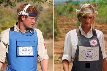 Prince Harry retraces Diana's footsteps through Angola minefield