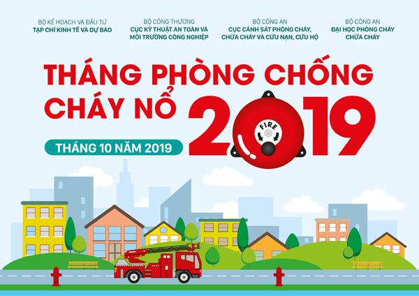 Tháng Phòng chống cháy nổ 2019 - nâng cao ý thức phòng cháy