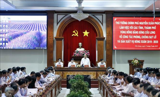 Nguyễn Xuân Phúc,Thủ tướng Nguyễn Xuân Phúc,sạt lở