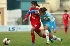 Nữ Hà Nội thắng to dù gặp sự cố mất điện