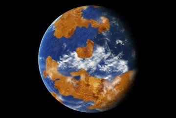 Sao Kim biến thành hành tinh chết vì biến đổi khí hậu