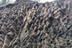 Phát hiện 'Gành Đá Đĩa trên cạn' với kết cấu địa chất độc đáo