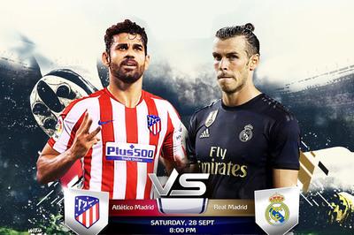 Atletico vs Real: Rực lửa thành Madrid