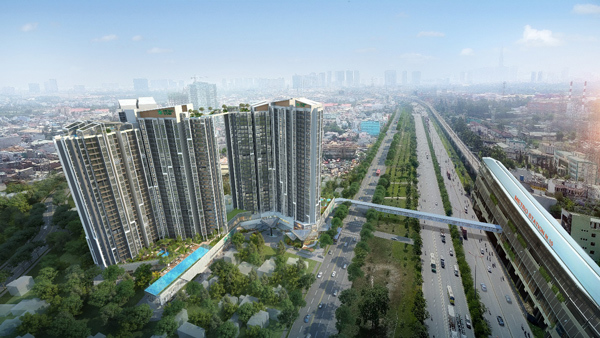 Metro Star 'giải cơn khát' căn hộ xanh khu Đông TP.HCM