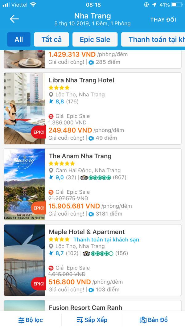 Sôi động săn deal 'khách sạn 5 sao giá mềm' trên Traveloka