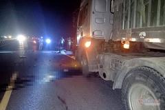 Va chạm với xe container, 2 thợ xây ở Quảng Trị tử vong tại chỗ
