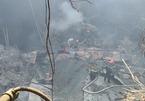 Biến dạng khủng khiếp bên trong Cung Việt Xô sau hỏa hoạn