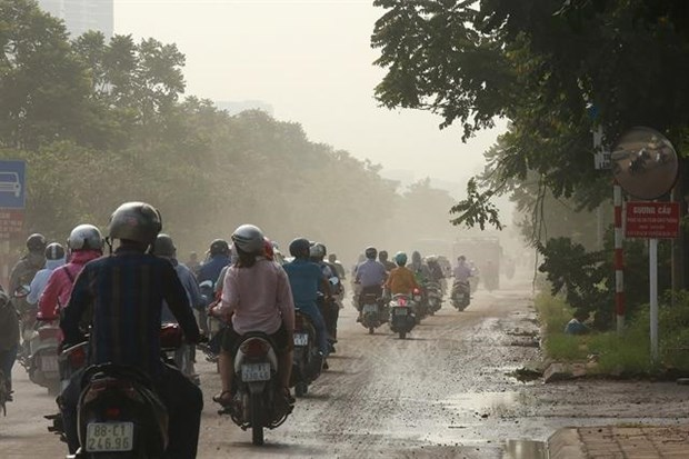 Hanoi's declining air quality blamed on change of seasons