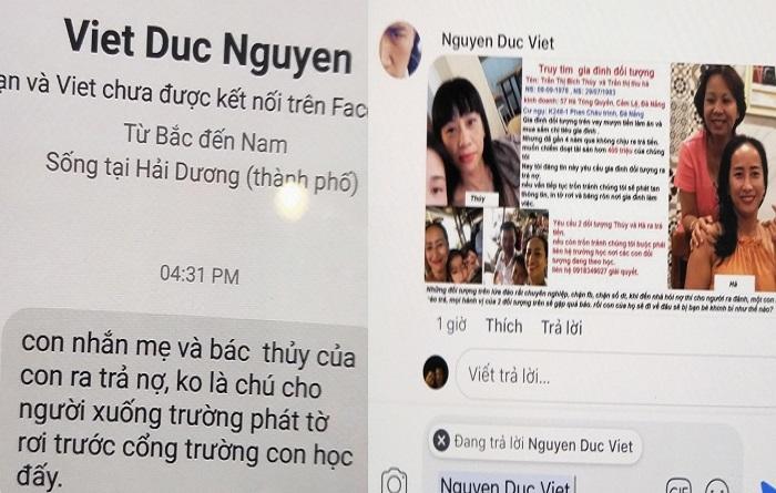 Chị nợ ngân hàng, em gái bị khủng bố đòi 400 triệu ở Đà Nẵng