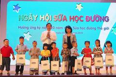 330 trường học ở Đà Nẵng hào hứng cải thiện chiều cao cho trẻ