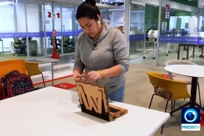 Nữ sinh chế tạo laptop gỗ, học sinh nghèo cũng có thể sử dụng
