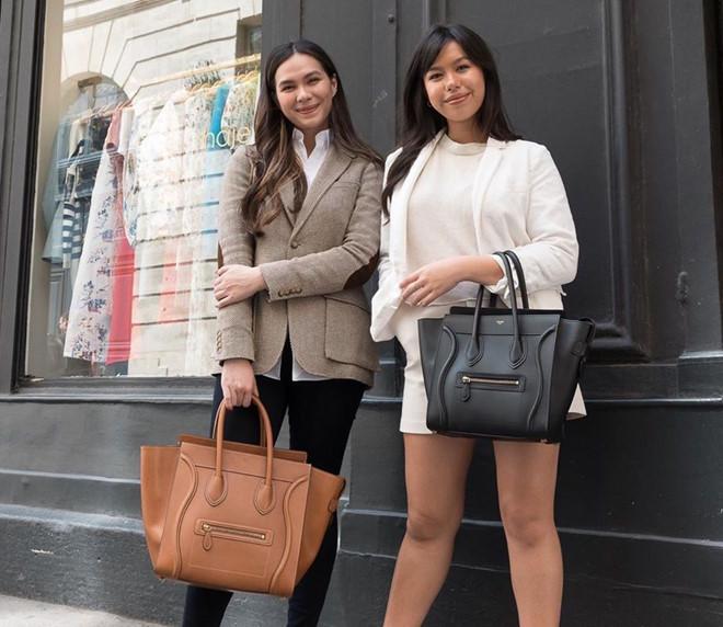 Hai con gái đẹp gợi cảm không kém gì 'Nữ hoàng ảnh lịch' Việt
