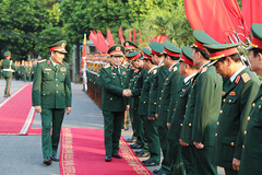 Đại tướng Ngô Xuân Lịch chủ trì lễ bàn giao chức Tư lệnh Quân khu 2