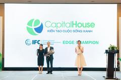 Capital House chính thức vào hệ thống Công trình xanh Quốc tế