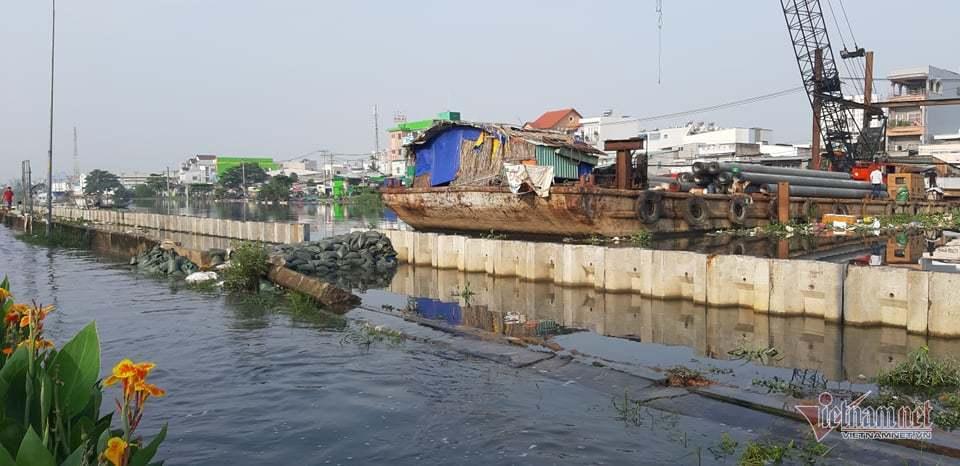 Vỡ đê,Triều Cường,Ngập Nước