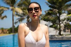 Hà Kiều Anh và những sao Việt tuổi U40, U50 tôn dáng với áo tắm