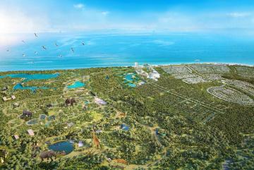 Bà Rịa - Vũng Tàu ủng hộ phương án đầu tư Safari Hồ Tràm