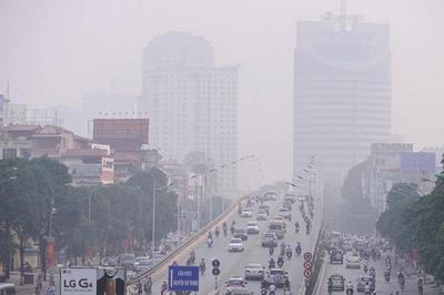 Báo động ô nhiễm không khí ở nội đô