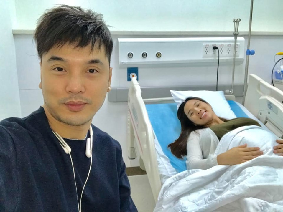 Siêu mẫu Kim Cương sinh con thứ 2 cho Ưng Hoàng Phúc