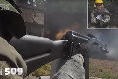 Xem súng trường AK-74 nhả đạn đến nổ nòng