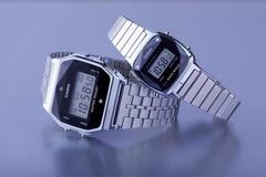 Casio sử dụng kim cương thật để trang trí đồng hồ