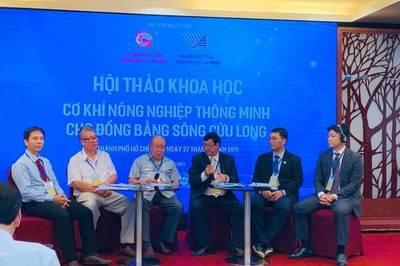 Cơ khí nông nghiệp thông minh cho Đồng bằng sông Cửu Long