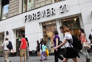 Forever 21 chính thức tuyên bố phá sản