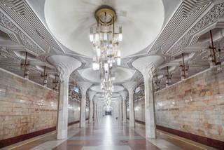 Bên trong những ga tàu điện ngầm lộng lẫy tại các nước Liên Xô cũ