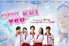 'Con gái yêu' trên SCTV14 - 'nghìn lẻ một' rắc rối tình yêu học trò