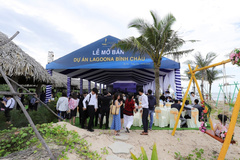 Hơn 500 khách hàng tham dự lễ mở bán Lagoona Bình Châu