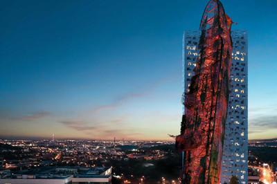 Tháp 'tàu đắm' 84,5 triệu USD tại Cộng hòa Czech có gì đặc biệt?