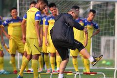 HLV Park Hang Seo nổi giận với cầu thủ U22 Việt Nam