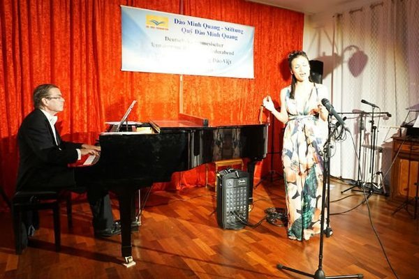 Concert features German and Vietnamese music