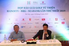 Ra mắt giải golf từ thiện do Đài PT-TH Hà Nội tổ chức