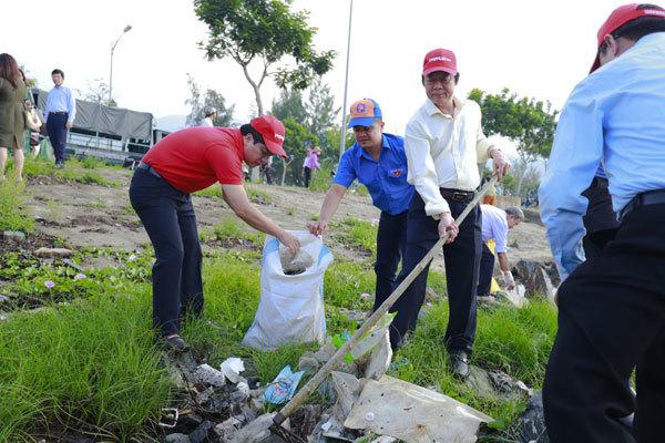 doanh nghiệp,bảo vệ môi trường,chống rác thải nhựa,làm sạch biển