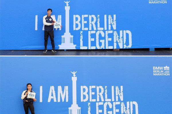 Đại diện adidas Runners Saigon 'cán đích' giải chạy Berlin Marathon