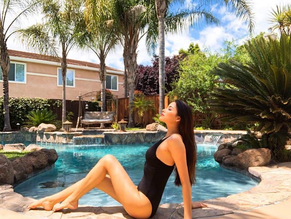 Không gian biệt thự bên Mỹ của Hoa hậu Phạm Hương