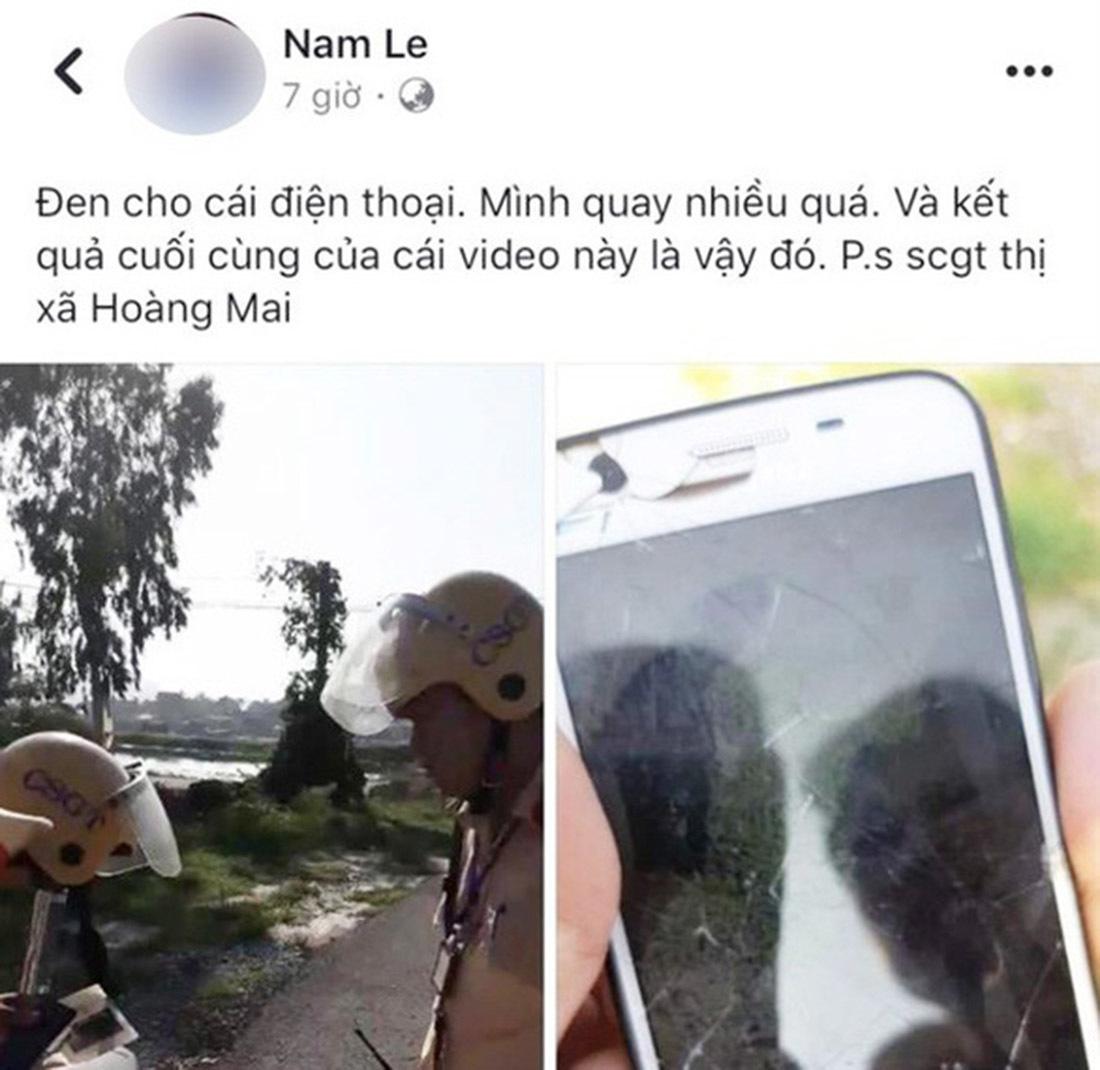 Nghệ An,facebook,cảnh sát giao thông